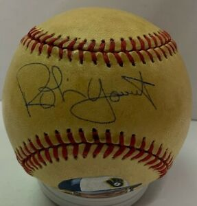 Brewers Hall of Famer ROBIN YOUNT Signed MLB Hand Painted Baseball AUTO - JSA