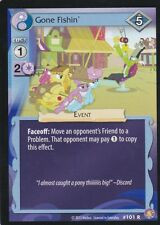 MY LITTLE PONY TRADING CARD GAME GONE FISHIN RARE CARD #101