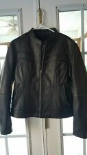 STREET AND STEEL LEATHER JACKET MOTORCYCLE SIZE XL WOMAN'S/ S/M mens
