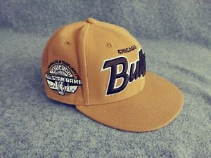 New Era 9Fifty All Star Weekend Chicago Bulls Snapback Baseball Cap Ginger Brown