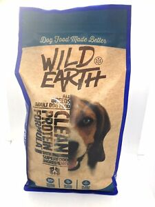 Wild Earth Protein Formula All Breeds Adult Dog Food 4lbs. Bag Exp Date: 1/22