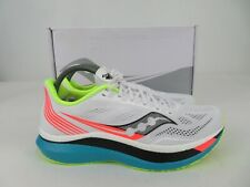 Saucony Endorphin Pro White Mutant Athletic Running Shoes Womens 11 M, NEW