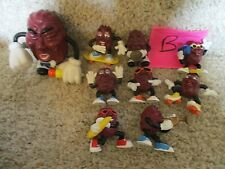 California Raisins Vintage Late1980's Lot B sing dance horn band music toys part