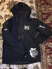 2021 Burton AK GORTEX Swash Snowboard Jacket Black Large