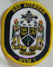 PUS311 - US NAVY USS AVENGERMCM 1 PATCH