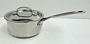 Cuisinart 1.5 QT Stainless Handled Sauce Pan w/ Lid Model #719-16