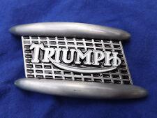 Triumph Metal & enamel Belt Buckle Belt Buckle  Bumper & Grill