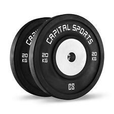 Coppia Dischi Pesi Palestra Competizione Weight Bilanciere Body Building 2X20Kg