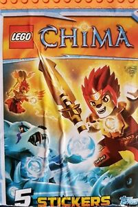 LEGO CHIMA, FULL SET OF STICKERS X244