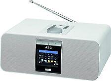 AEG IR 4468, Internetradio Webradio Bluetooth, weiß