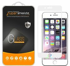 Supershieldz Tempered Glass Screen Protector Saver For iPhone 7 (White)