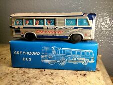 Vintage Tin Friction Bus