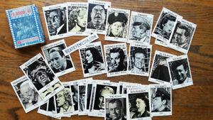 ED WOOD-MOVIE POSTER-HORROR,TIM BURTON-LUGOSI-DRACULA-MONSTER,trading cards,film