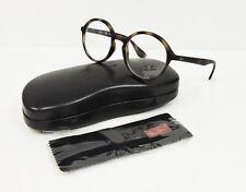 Authentic Ray Ban  RX7075 5365 Round Tortoise Eyeglasses Frame 49mm