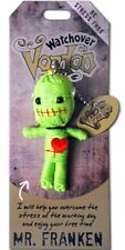 "Watchover VOODOO DOLL Keychain, MR. FRANKEN, Be Stress Free, 3"" Tall"