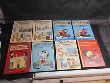 Old Vtg Lot 8 1970s-1980s CHARLIE BROWN CHILDRENS BOOKS Book Charles M. Schulz