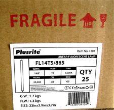 "25 of F14T5/865 14W T5 6500K Daylight Lamp 22.25"" Linear Fluorescent Light Bulb"