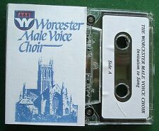 Worcester Male Voice Choir Invitation to Song Cassette Tape - TESTED