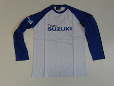 Suzuki GSX R Racing Team Clothing,Team T-Shirt Long-Sleeved Size S Blue New