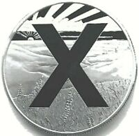 1 oz Silver - OwnX - AMERICAN X FREEDOM COIN - .999 PURE Silver
