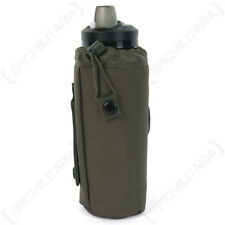 Olive MOLLE Water Bottle Cover - Army Military Case Drinks Insulating Sports New