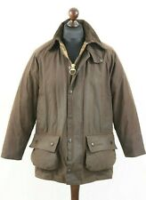 BARBOUR A231 BEAUFORT Waxed Cotton Jacket / Coat Rustic Brown C 38 / 97 cm