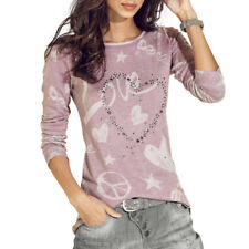 Fashion Women Long Sleeve T-Shirt Tops Blouse Casual Loose T-Shirt Tee Pullover