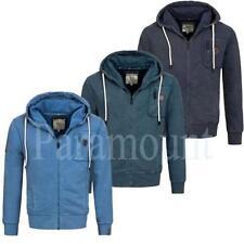 Crosshatch Polycotton Long Sleeve Hoodies & Sweats for Men