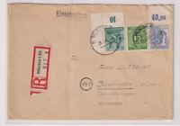 Gemeinsch.Ausg. Mi. 957 P OR,946 Eckr.,922, R-München-Bopfingen, U hat oben eine