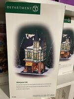DEPT 56 CHRISTMAS IN THE CITY WINTERGARTEN CAFE - NEW IN BOX - RETIRED