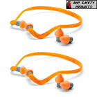 (2 PACK) HOWARD LEIGHT QB2 HYG SUPRA-AURAL QUIET BAND BANDED EAR PLUGS NRR 25