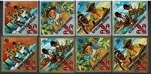 Burundi, Airmail & Regular, 1967 Boy Scout Commemoratives, CTO