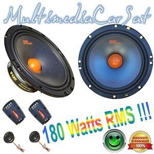 SP Audio Kit Altoparlanti Casse 2 Vie 180 Watts RMS Woofer Tweeter SP6.5KIT