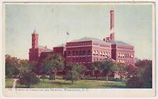 Bureau of Engraving and Printing, Washington, D.C. - Antique Postcard