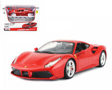 1:24 Ferrari 488 GTB Assembly Line Metal KIT Model Car Toy Red New in Box