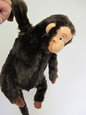 WESTMINSTER LAUGHING ROLLING SPINNING MONKEY CHIMP  PLUSH TOY