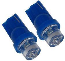 JEU DE 2 AMPOULES T10 W5W 12V A LED LUMIERE BLEUE  -  C1881
