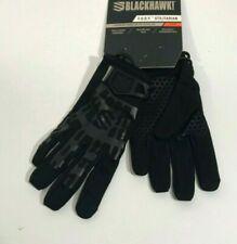 NEW BLACKHAWK! GT001BKLG FURY UTILITARIAN TACTICAL GLOVES BLACK LARGE