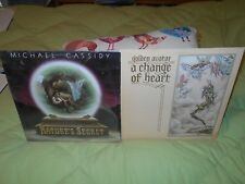 Michael Cassidy Nature's Secret, Golden Avatar A Change Of Heart 2 Lps Lot!