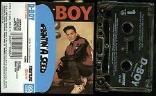 D-Boy Rodriguez Plantin' A Seed USA Cassette Tape Religious Rap Christian