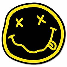 NIRVANA smiley rock band Vynil Car Truck Van Window Sticker Decal -28""