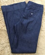 Daughters Of The Liberation Sz 0 Dark Wash Wide Leg Trouser Jeans JN53
