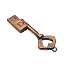 8GB USB Memory Stick Flash Drive Portable Pendrive Storage Disk Love key Lot
