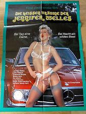 Erotik Kinoplakat ** DIE HEISSEN TRÄUME DER JENNIFER WELLES Mercedes Auto