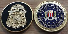 FBI - Federal Bureau of Investigation BADGE + SEAL version challenge coin