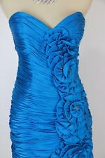 Terani Turquoise Short Gown Prom Formal Summer Dress New $300 Cruise Size 8