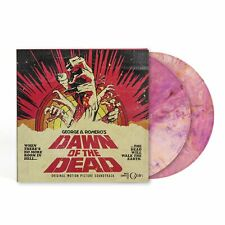 Dawn Of The Dead Soundtrack WAXWORK LP Record Pink Swirl Color Vinyl Variant