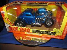 Defibrillatore 1/18 Hot Rod 34 Ford Underground Raro da Collezione Auto