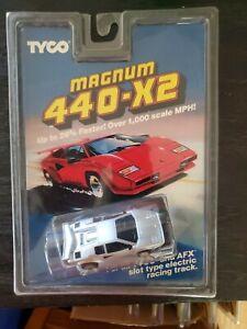 tyco magnum 440 x2  Lamborghini slot car