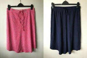 Hush jersey curved hem Skirt Size 6-16 animal print